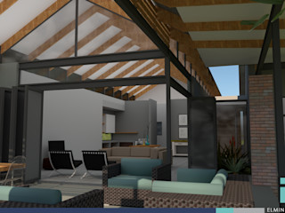 HOUSE 1758 ENDesigns Architectural Studio Modern living room