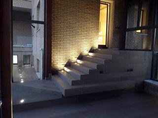 Architetto Luigia Pace Jardins de inverno modernos Madeira Cinza