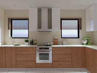 Thornhill Estate Kitchen Linken Designs Built-in kitchens Wood