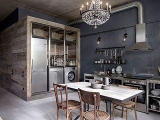 INT2architecture Kitchen units Iron/Steel Grey