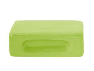 Ceramics handles – Rectangle – colour green lime glossy glaze Viola Ceramics Studio ArtworkOther artistic objects Ceramic Green