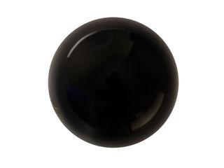 "Ceramics handles - Round 3,5 cm / 1,58"" - colour black glossy glaze Viola Ceramics Studio ArtworkOther artistic objects Ceramic Black"