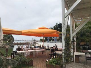 Akaydın şemsiye 餐廳 鋁箔/鋅 Orange