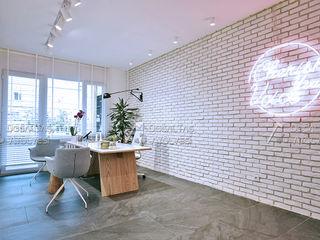 Doğaltaş Atölyesi Modern clinics Bricks White