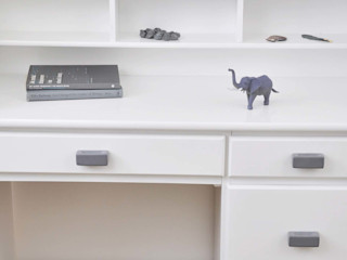 Ceramics handles – Rectangle – colour dark grey glossy glaze Viola Ceramics Studio ArtworkOther artistic objects Ceramic Grey