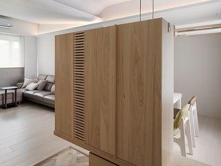 禾光室內裝修設計 ─ Her Guang Design Asian style corridor, hallway & stairs