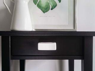 Ceramics handles – Rectangle – colour white glossy glaze Viola Ceramics Studio ArtworkOther artistic objects Ceramic White