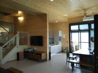 地興木屋有限公司 Asian style kitchen Wood