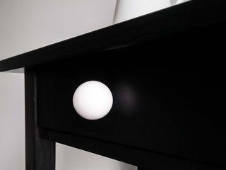 "Ceramics handles - Round 3,5 cm / 1,58"" - colour white matt glaze Viola Ceramics Studio ArtworkOther artistic objects Ceramic White"