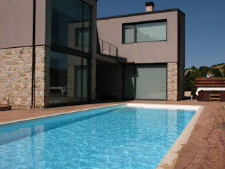 Villa unifamiliare con piscina a Foligno (PG) Fabricamus - Architettura e Ingegneria Villa