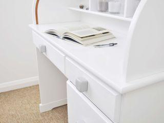 Ceramics handles - Cube - colour light grey glossy glaze Viola Ceramics Studio ArtworkOther artistic objects Ceramic Grey
