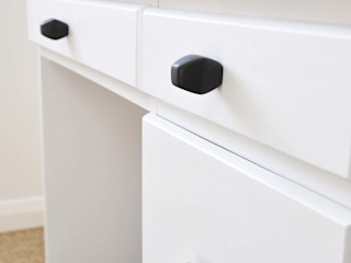 Ceramics handles - Diamond - colour black matt glaze Viola Ceramics Studio ArtworkOther artistic objects Ceramic Black
