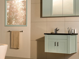 Stonearth Painted Palette Stonearth Interiors Ltd Modern Bathroom Solid Wood Green