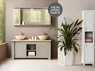 Stonearth Painted Palette Stonearth Interiors Ltd Modern Bathroom Solid Wood Beige