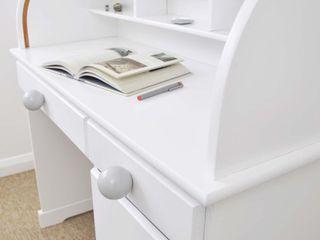 Ceramics handles – Round 6 cm - colour light grey glossy glaze Viola Ceramics Studio ArtworkOther artistic objects Ceramic Grey