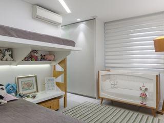 okha arquitetura e design Baby room Wood Green