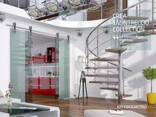Effebiquattro S.p.A. Puertas de vidrio Vidrio Transparente