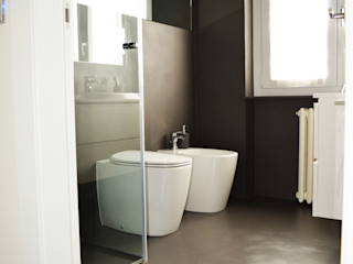 Alessandro Jurcovich Architetto Ванна кімната Коричневий