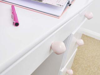 Ceramics handles – Little top – colour pastel pink glossy glaze Viola Ceramics Studio HouseholdAccessories & decoration Ceramic Pink