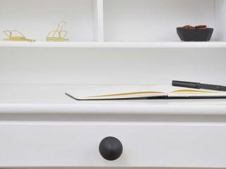 Ceramics handles – Little top - colour black matt glaze Viola Ceramics Studio HouseholdAccessories & decoration Ceramic Black