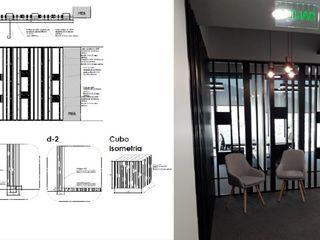 Mueble divisor Arq Darwin Machiste Salas/RecibidoresAccesorios y decoración Madera Negro