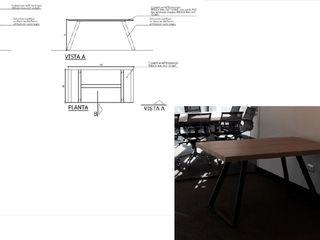 Mesa de trabajo Arq Darwin Machiste EstudioEscritorios