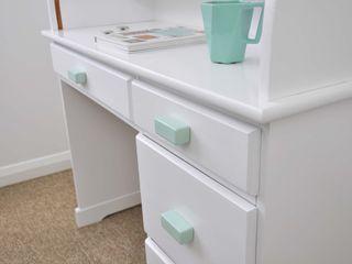 Ceramics handles – Rectangle – colour pastel mint glossy glaze Viola Ceramics Studio HouseholdAccessories & decoration Ceramic Blue