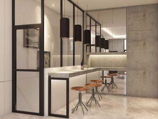 Lighthouse Architect Indonesia Modern Home Wine Cellar