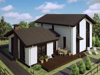 Mild Haus Casas de estilo escandinavo Madera Blanco