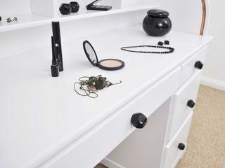 Ceramics handles – Polyhedron - colour black glossy glaze Viola Ceramics Studio HouseholdAccessories & decoration Ceramic Black