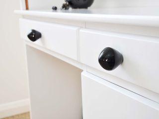 Ceramics handles – Little top – colour black glossy glaze Viola Ceramics Studio HouseholdHomewares Ceramic Black