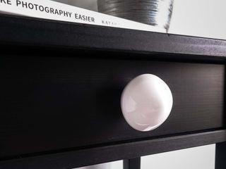 Ceramics handles – Little top – colour white glossy glaze Viola Ceramics Studio HouseholdAccessories & decoration Ceramic White