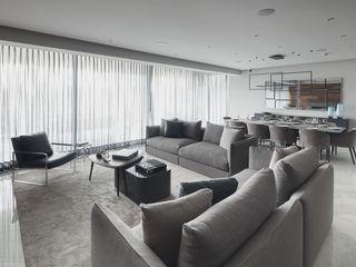 Departamento HL Concepto Taller de Arquitectura Salas modernas