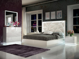Franco Furniture BedroomBeds & headboards MDF White