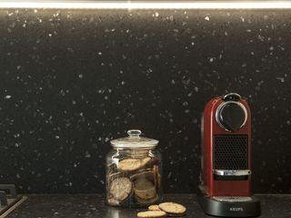 PADIGLIONE B KitchenBench tops Concrete Black