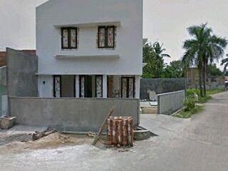Rumah Pojok NY project Rumah tinggal Batu Bata White