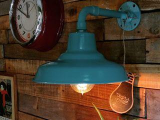 Lamparas Galponeras Vintage Industriales variedad de colores Vieja Eddie Lamparas Vintage Vieja Eddie Oficinas y locales comerciales Aluminio/Cinc Turquesa