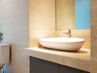 Likha Interior Modern Bathroom Plywood Grey