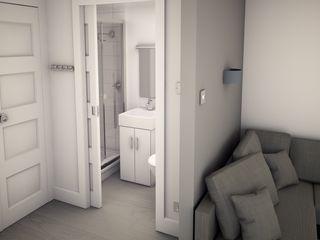 Building regulation compliant holiday lodges Building With Frames Modern Bathroom
