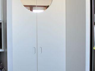 RISTRUTTURAZIONE PARZIALE APPARTAMENTO 140 mq Milano sud-ovest HBstudio Porte interne Legno Bianco