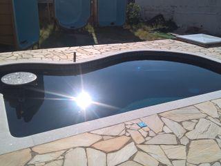 Vila Nova Piscinas Садовий басейн Бетон Синій