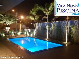 Vila Nova Piscinas Садовий басейн Залізобетон Синій
