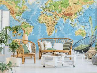 Crearreda 牆壁與地板牆壁裝飾 塑木複合材料 Multicolored