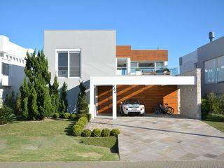 Marcelo John Arquitetura e Interiores HogarPlantas y accesorios Concreto Beige