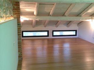 Architetti Baggio Schlafzimmer im Landhausstil