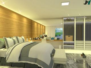 ITOARQUITETURA 臥室配件與裝飾品 MDF Amber/Gold
