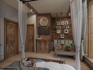 Студия дизайна Натали Хованской Country style bedroom
