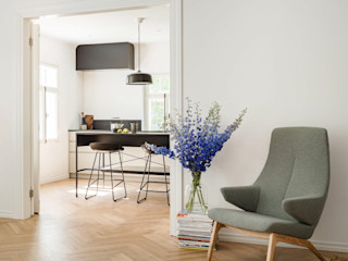 Baltic Design Shop Built-in kitchens Wood White