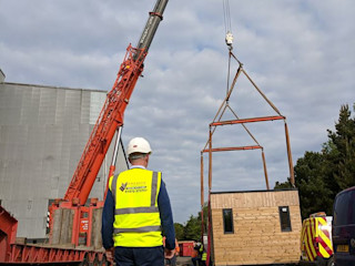 Offsite Building Construction Building With Frames Prefabricated home Wood