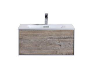 DIVARIO WALL MOUNT BATHROOM VANITY KubeBath BathroomStorage